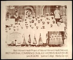 Poster for the First National Conference of Black Women's Health Issues