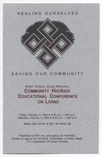 Healing Ourselves, Saving our Community