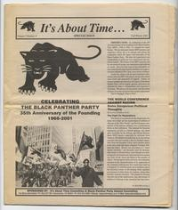 Celebrating the Black Panther Party: 35th Anniversary of the Founding