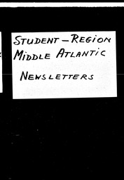 Student: Eagles Mere region YWCA of the U.S.A. records, Record Group 11. Microfilmed headquarters files