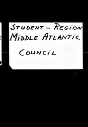 Student: Eagles Mere region YWCA of the U.S.A. records, Record Group 11. Microfilmed central files