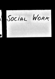 Social work YWCA of the U.S.A. records, Record Group 11. Microfilmed central files