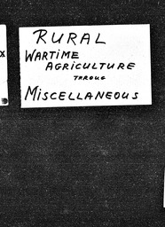 Rural YWCA of the U.S.A. records, Record Group 11. Microfilmed central files