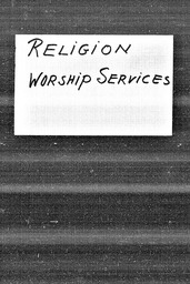 Religion YWCA of the U.S.A. records, Record Group 11. Microfilmed central files