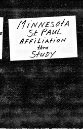 Minnesota YWCA of the U.S.A. records, Record Group 11. Microfilmed headquarters files