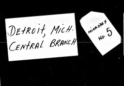 Michigan YWCA of the U.S.A. records, Record Group 11. Microfilmed headquarters files