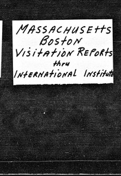 Massachusetts YWCA of the U.S.A. records, Record Group 11. Microfilmed central files