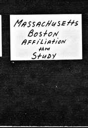 Massachusetts YWCA of the U.S.A. records, Record Group 11. Microfilmed headquarters files