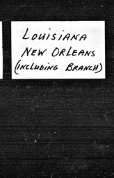 Louisiana YWCA of the U.S.A. records, Record Group 11. Microfilmed headquarters files