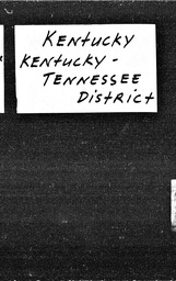 Kentucky YWCA of the U.S.A. records, Record Group 11. Microfilmed headquarters files