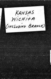 Kansas YWCA of the U.S.A. records, Record Group 11. Microfilmed central files