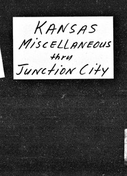 Kansas YWCA of the U.S.A. records, Record Group 11. Microfilmed headquarters files