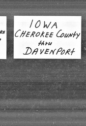 Iowa YWCA of the U.S.A. records, Record Group 11. Microfilmed central files