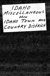 Idaho YWCA of the U.S.A. records, Record Group 11. Microfilmed central files