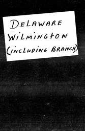 Delaware YWCA of the U.S.A. records, Record Group 11. Microfilmed headquarters files