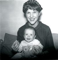 Sylvia Plath and baby Frieda