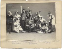 Cast of Nicholas Udall's play