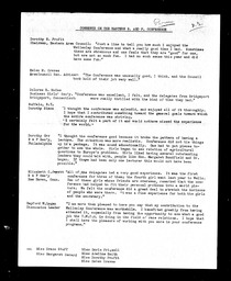 Business and professional women YWCA of the U.S.A. records, Record Group 11. Microfilmed central files