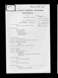 State Committee programs and reports YWCA of the U.S.A. records, Record Group 11. Microfilmed headquarters files