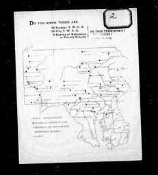 Field and Territorial Committee programs and reports YWCA of the U.S.A. records, Record Group 11. Microfilmed headquarters files