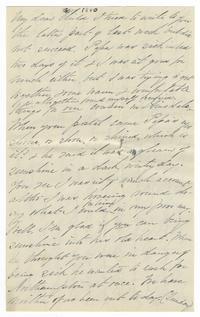 Letter from Lucy Watson Davis to Elizabeth Crocker Lawrence