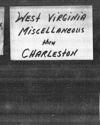 West Virginia YWCA of the U.S.A. records, Record Group 11. Microfilmed central files