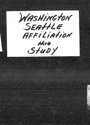 Washington YWCA of the U.S.A. records, Record Group 11. Microfilmed headquarters files