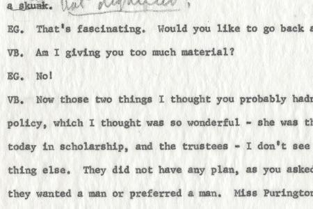 Viola Barnes Papers