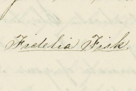 Fidelia Fiske Papers