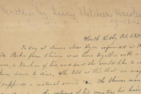 Lucy Fletcher Hawley Diary