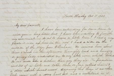 Jane Scudder Correspondence
