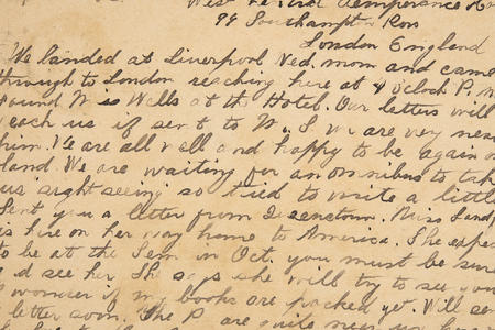 Mary Preston Spafford Papers