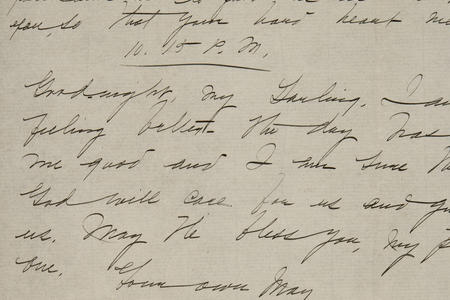 Jeannette Marks and Mary Woolley correspondence
