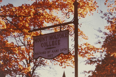 Special programs for non-Mount Holyoke students records