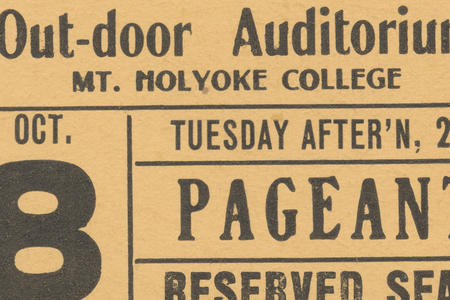 Mount Holyoke College History and Description Collection