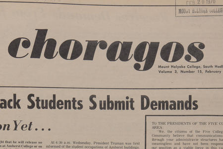 Mount Holyoke College Student Newspaper Collection
